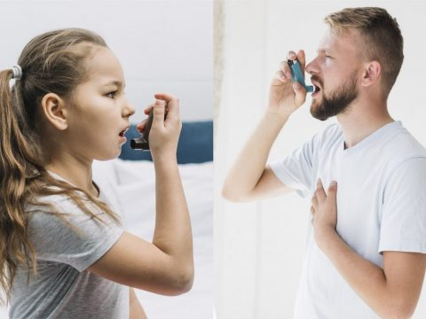 childhood and adult onset asthma