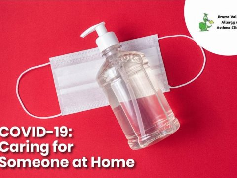 caring someone with covid-19 at home